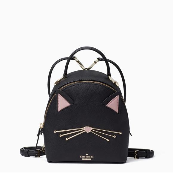 ba5f0d0d81 Kate Spade Cat s Meow Cat Binx Mini Backpack